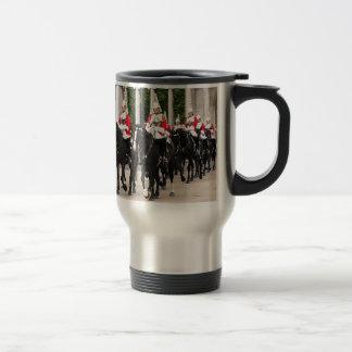 Royal Household Cavalry, London, England Stainless Steel Travel Mug