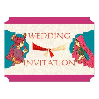 ROYAL INDIAN STYLE WEDDING INVITE