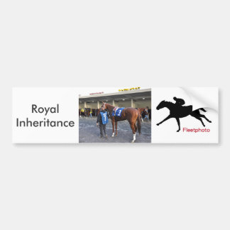 Royal Inheritance #3 Bumper Sticker