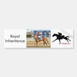 Royal Inheritance - Manny Franco Bumper Sticker