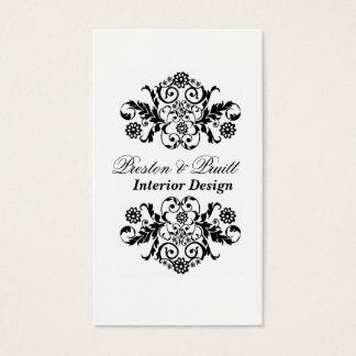 Royal Interior Designer Black White Profesional