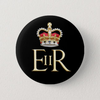 Royal Jubilee 6 Cm Round Badge