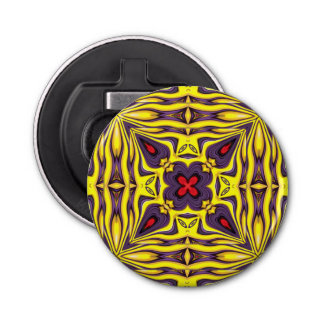 Royal Kaleidoscope    Magnetic Bottle Openers