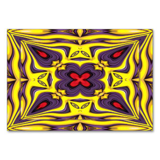 Royal Kaleidoscope   Tablecards Card