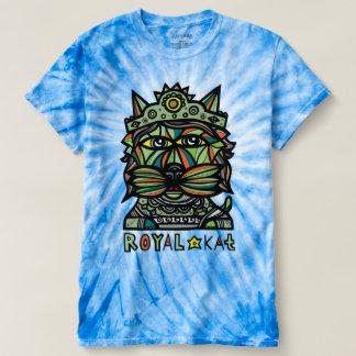 """""""Royal Kat"""" Men's Cyclone Tie-Dye T-Shirt"""