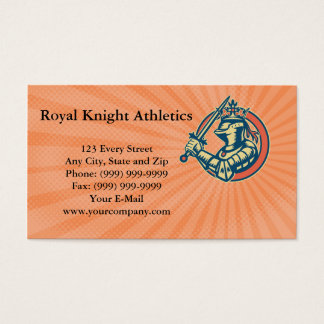 Royal Knight Athletics Business card
