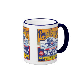 Royal Knight Distilled Gin Mugs and Steins
