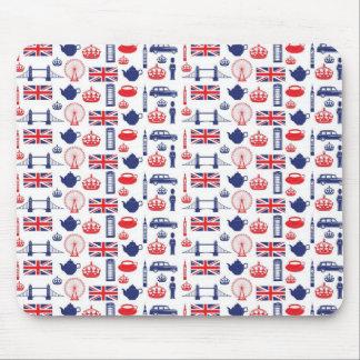 Royal London Landmarks Pattern Mouse Pad