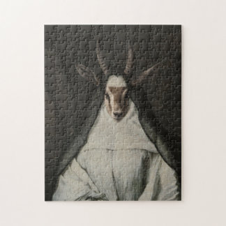 Royal Luxury Sister Gazelle Portrait Puzzle