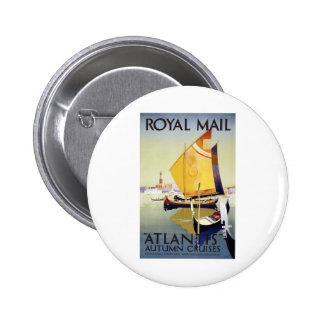 Royal Mail Atlantis Pins