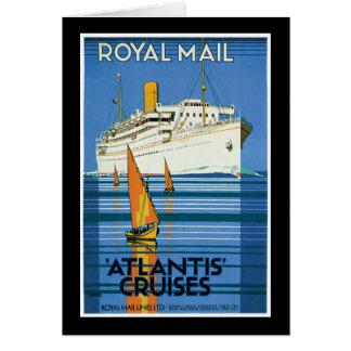 Royal Mail Atlantis Cruises Card