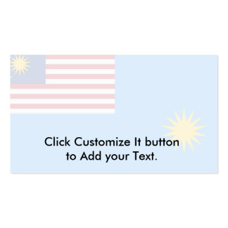 Royal Malaysian Air Force, Malaysia flag Pack Of Standard Business Cards