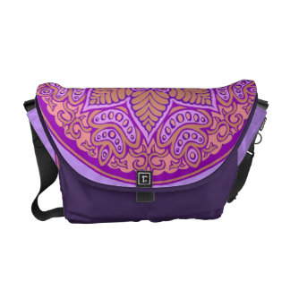Royal Mandala Rickshaw Messenger Bag