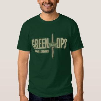 Royal Marine's Commando Green OpsT-shirt T Shirts