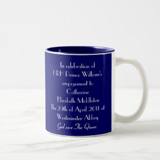 Royal marriage Mug - William & Kate