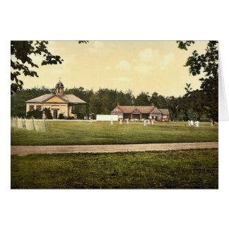 Royal Military College, cricket grounds, Sandhurst Greeting Card