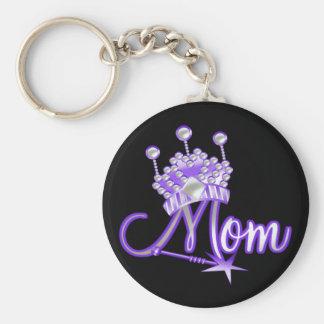 Royal Mum T-shirts and Gifts Basic Round Button Key Ring