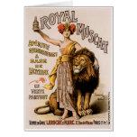 Royal Muscat Vintage Wine Drink Ad Art Greeting Cards