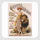 Royal Muscat Vintage Wine Drink Ad Art Stickers