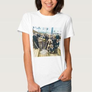 Royal Naval Exhibition 1891 Vintage Hardhat Diver Tee Shirt