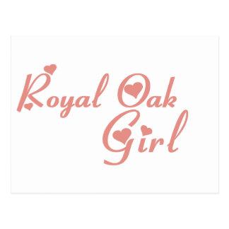 Royal Oak Girl tee shirts Postcard