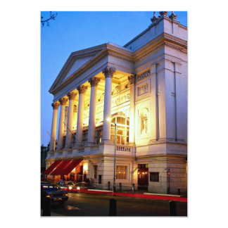 Royal Opera House, Covent Garden, London, England Personalized Invitation