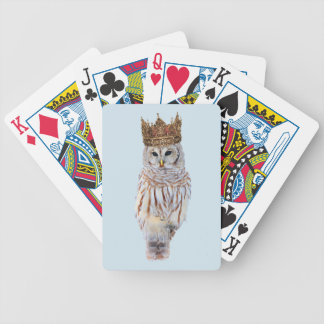 Royal Owl #1 Bicycle Playing Cards
