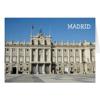 Royal Palace, Madrid Card