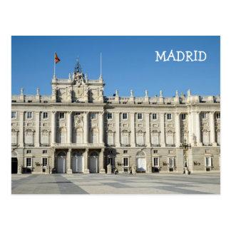 Royal Palace, Madrid Postcard