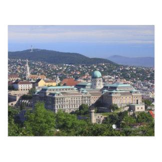 Royal Palace Of Buda Postcard