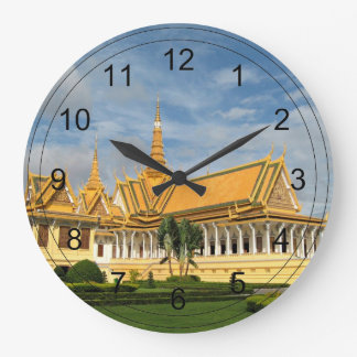 Royal Palace, Phnom Penh, Cambodia - VIRGINIA5050 Clock