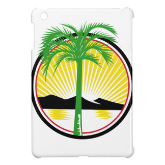 Royal Palm Beach Sea Mountain Retro iPad Mini Cover