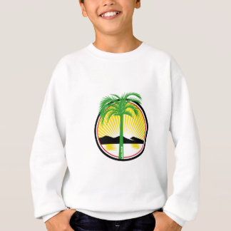 Royal Palm Beach Sea Mountain Retro Sweatshirt