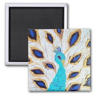 Royal Peacock (Kimberly Turnbull Art) Magnet