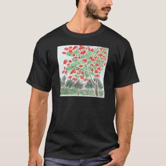 Royal Poinsettia T-Shirt