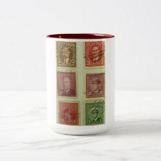 Royal Postage Stamps Mug