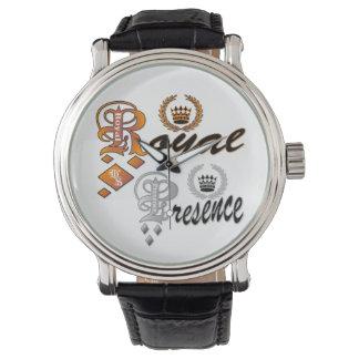 Royal Presence (text) Watch