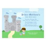 Royal prince charming boys birthday party invite