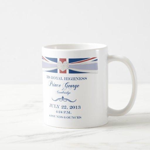 Royal Prince George Baby Souvenir Mug