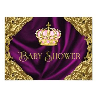 Royal Princess Baby Shower Card