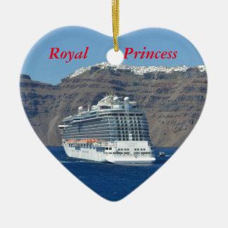 Royal Princess Ceramic Heart Decoration