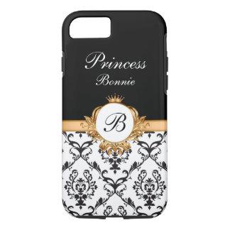 Royal Princess Crown Monogram iPhone 8/7 Case