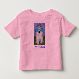 Royal Princess Humor/Tiara Toddler T-Shirt