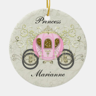 Royal Princess Party - SRF Round Ceramic Decoration
