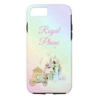 Royal Princess Rainbow Castle Carriage iPhone 8/7 Case