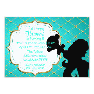 Royal Princess with Sceptre Party Invite
