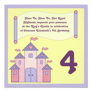 Royal Proclamation Birthday Invitation