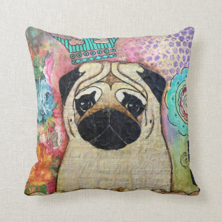 Royal Pug Pillow