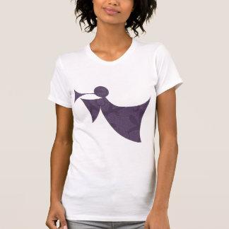 Royal Purple Angel - Women's Short Sleeve T-shirt