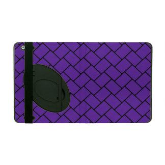 Royal Purple Basket Weave 2 iPad Case